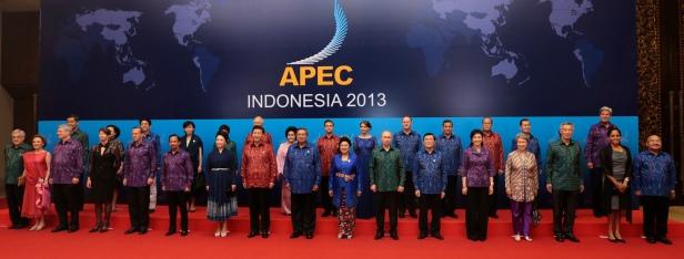 APTOPIX Indonesia APEC