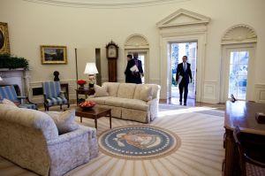 entrée Obama WH