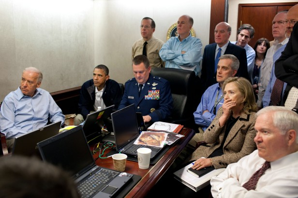 Situation Room OBL Raid