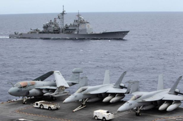 USS George Washington Sth China Sea