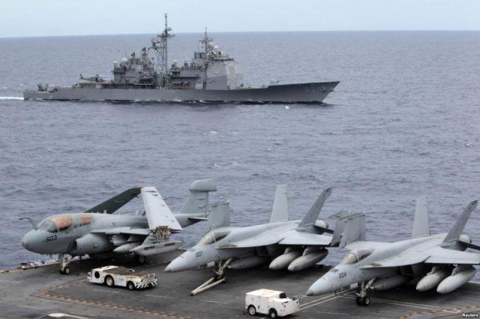 USS George Washington Sth China Sea