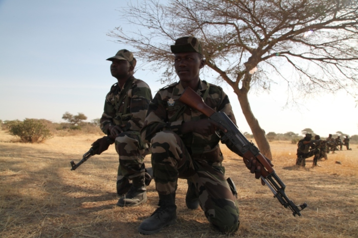 Niger Army Flintlock 2014 Niger