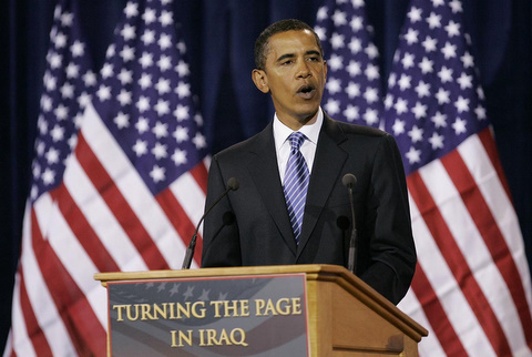 Obama turning the page in Iraq
