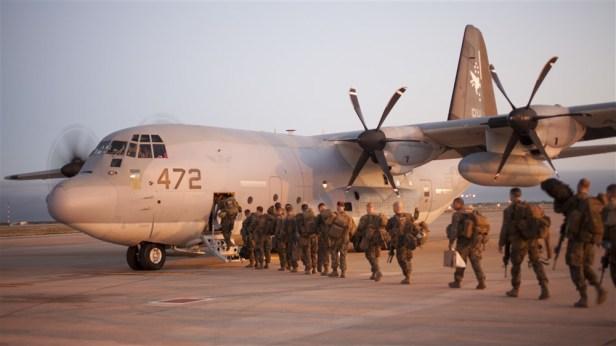 US SPMAGTF CR AF in Monrovia Liberia Operation United Assistance Oct9 2014 AFRICOM img