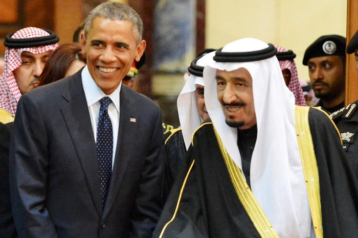 US President heads high profile delegation to Saudi Arabia