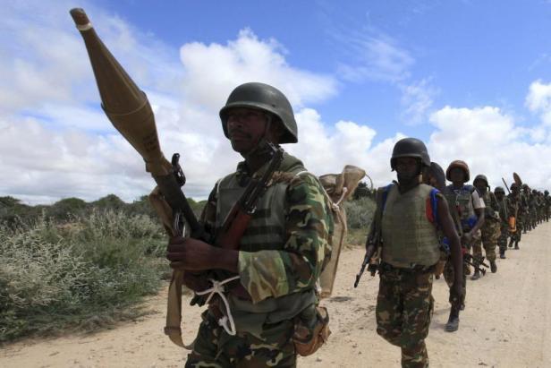 AMISOM Burundi soldiers 2012