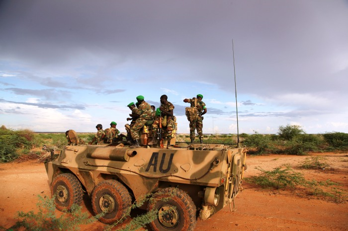 AMISOM troops Somalia 2014