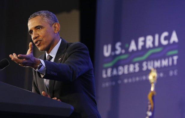 Obama Africa Leaders Summit 2014