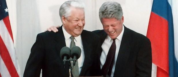 Clinton Eltsine