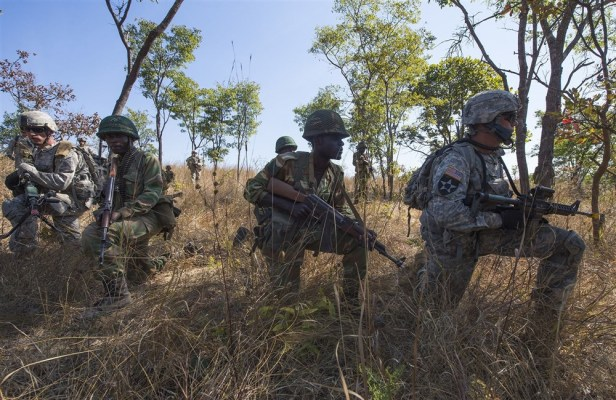Exercise Southern Accord 15 in Lusaka, Zambia, Aug 15, 2015